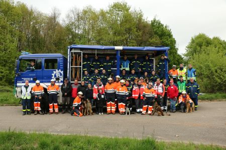 Manoeuvre THW - 22 & 23 avril 2017
